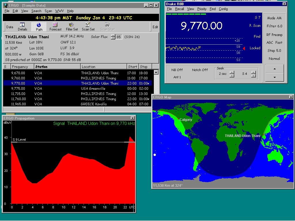 ergo 3 radio control software
