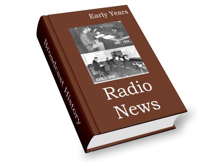 radio news early years